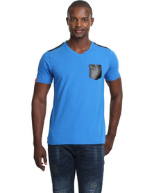 Cutty Flack T-Shirt Blue