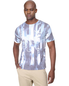 Cutty Gabriel T-Shirt Blue/White