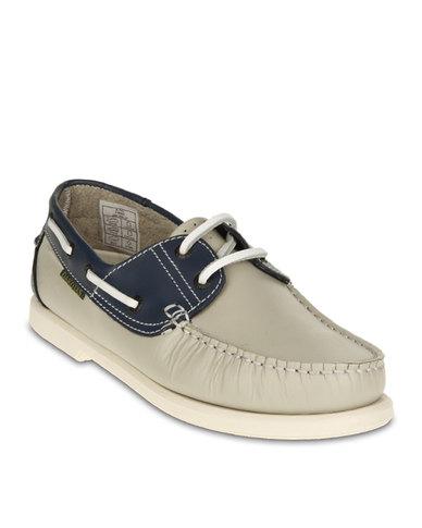 Dakotas Boat Shoe Navy Nude Warehouse Sale