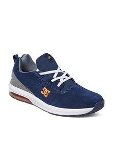 DC Heathrow LA Sneakers Navy/Grey