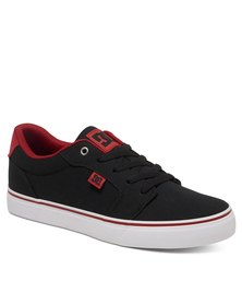 DC Anvil TX Sneakers Black/White/Red