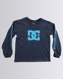 DC Tods Star Standard T-Shirt Navy