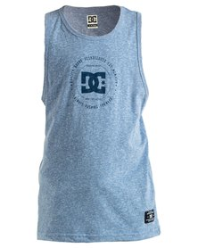 DC Boys Built Up Vests Blue