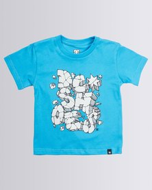 DC Tods Blowstone T-Shirt Blue