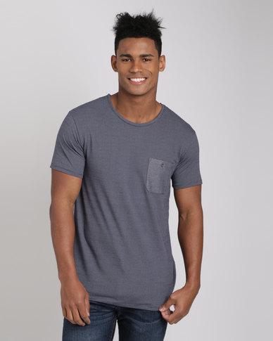 Deacon Atlantic T-Shirt Navy/Grey