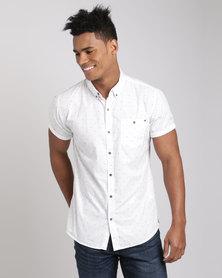 Deacon Caspian Short Sleeve Shirt White