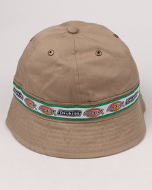 Dickies 6 Panel Sporty Hat Khaki