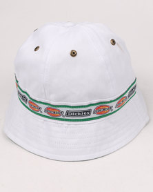 Dickies 6 Panel Sporty Hat White
