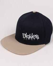 Dickies Plain Skate Cap Navy