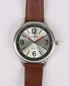 Digitime Dust Watch Brown