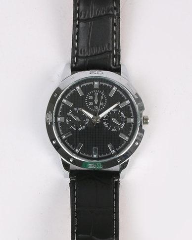 Digitime Typhoon Watch Black
