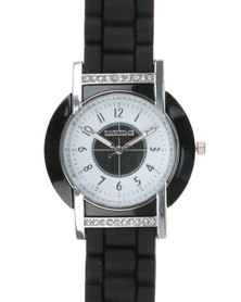 Digitime Wheel Watch Black