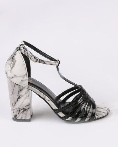 Dolce Vita Classic 102 Block Heel Sandals Black