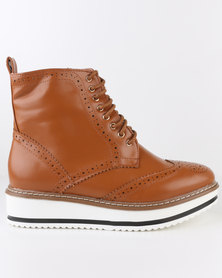 Dolce Vita Lucca Ankle Boot Tan