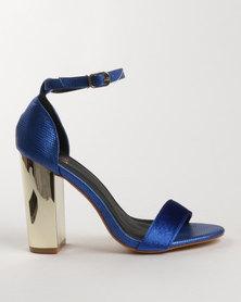 Dolce Vita Pego Block Heel Sandals Blue