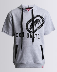 ECKÓ Unltd S/S Hooded Tee Grey