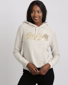 ECKÓ Unltd Hooded Top Oatmeal