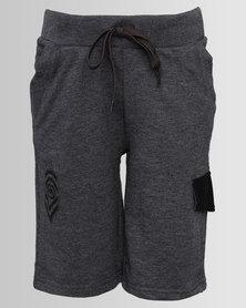 ECKÓ Unltd Boys Fleece Shorts Grey