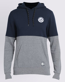 Element Merge Poptop Pullover Hoodie Blue/Grey