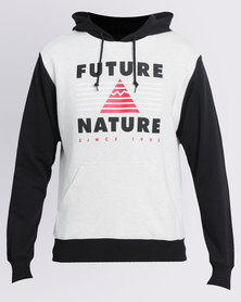 Element Seismic Contrast Pullover Hoodie Black/White