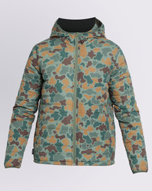 Element Alder Camo Puffer Jacket Multi