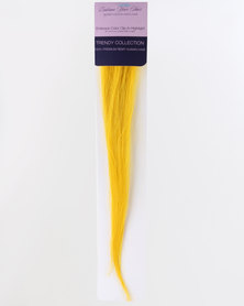 EMBRACE YOUR HAIR Colour Clip-in Highlight (2 Each) Passion Yellow