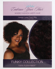EMBRACE YOUR HAIR Lauren Lace Front Wig Charcoal Fire