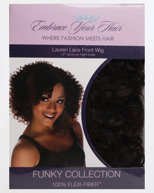EMBRACE YOUR HAIR Lauren Lace Front Wig Chocolate Brown