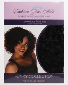 EMBRACE YOUR HAIR Lauren Lace Front Wig Silky Black