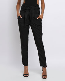 Eve Emporium Tailored Wrap Pants Black