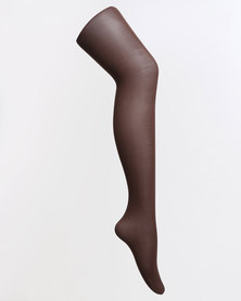 Falke Opaque Tights with Lycra Brown
