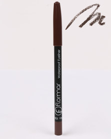 Flormar Professional Make-up Waterproof Eyeliner Pencil Dark Chestnut