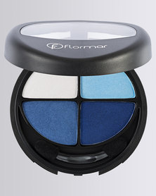 Flormar Professional Make-up Quartet Eye Shadows Blues in Love