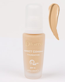 Flormar Professional Make-up Perfect Coverage Foundation Creamy Beige