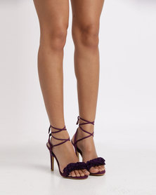 Footwork Piper High Heel Sandal Dark Purple Exclusive to Zando