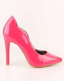 Footwork Aliya High Heel Court Shoe Pink