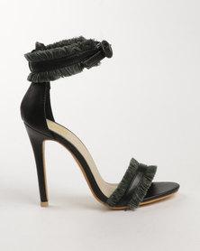 Footwork Brie High Heel Sandal Black