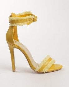 Footwork Brie High Heel Sandal Yellow