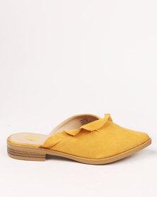 Footwork Lupita Flat Slip On Shoe Yellow