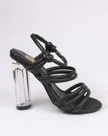 Footwork Reese Block Heel Sandal Black