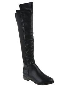 Footwork Gardena Over The Knee Boot Black