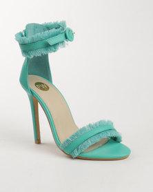 Footwork Brie High Heel Sandal Green