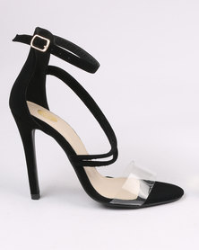 Footwork Porshia High Heel Sandal Black