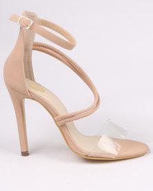 Footwork Porshia High Heel Sandal Nude