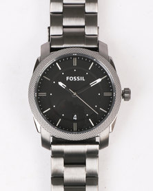 Fossil Machine mid IP Black Dial Smart Watch Smoke