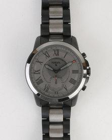 Fossil Q Grant Watch Black