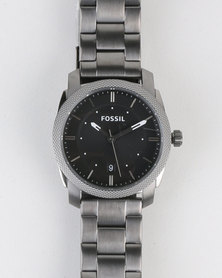 Fossil Machine MID Stainless Steel Watch Grey