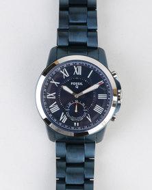 Fossil Q Grant Watch Blue