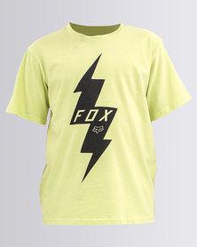 Fox Boys Pre Mortum T-Shirt Lime