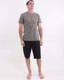Fox Slinger Short Sleeve T-Shirt Grey